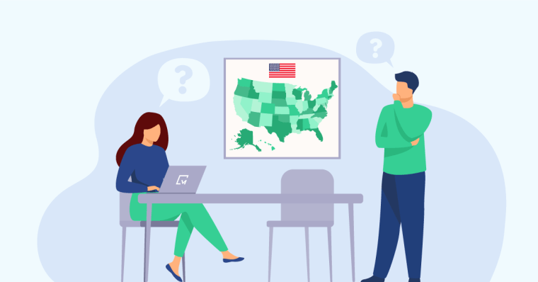 Amerika'da şirket Kurmak için Eyaletler