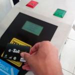 Penggunaan kartu e-toll sebagai tiket elektronik Commuter Line