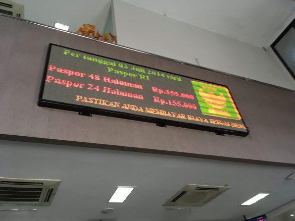 Biaya Pembuatan Paspor 24 dan 48 Halaman
