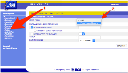 pembayaran-pelayanan-paspor-online-via-e-banking-klik-bca-2