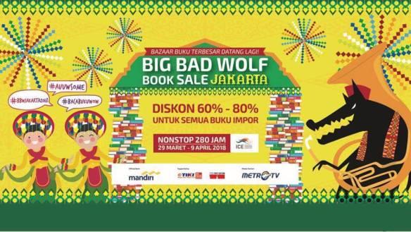 Big Bad Wolf Book Sale Jakarta 2018 ICE BSD