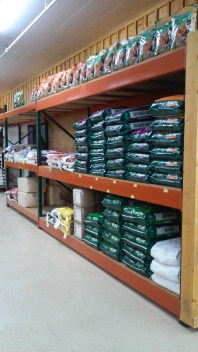 Shavings, Alfalfa and Orchard Grass at Murdoch's in Greeley