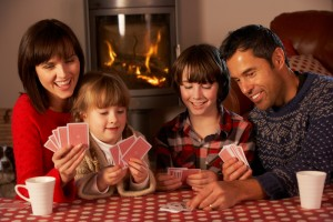 Play a game of cards as a family