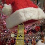 Santa Hat on Banjo