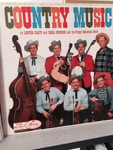 Country Music by Lester Flatt, Earl Scruggs and the Foggy Mountain Boys