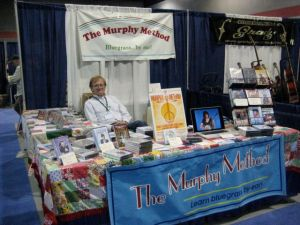 Red Henry at the Murphy Method IBMA booth.