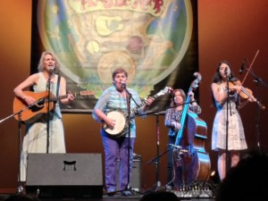 Murphy and her Band of Merry Chicas: Sally Jones, Murphy Henry, Missy Raines, Annie Stanaic