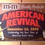M&M's Tour Poster