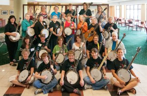 Women's Banjo Campers 2014