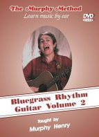 Bluegrass Rhythm Guitar Vol 2 cover