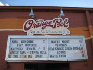 Monday night's marquee.