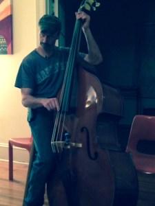 Ben on the bass