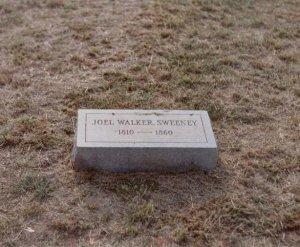 Joel Walker Sweeny grave