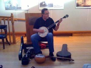 Tony Trischka at the Randolph County Center for the Arts