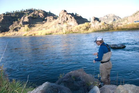 Jeff Fly Fishing Out West