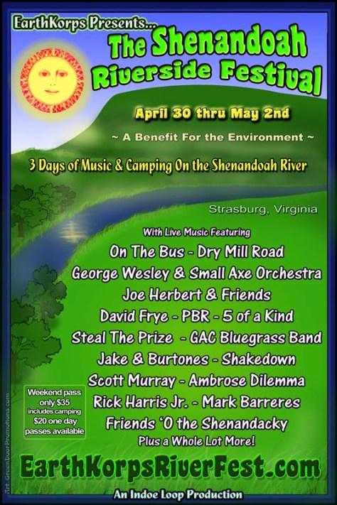 EarthKrops Shenandoah Riverside Festival Fundraiser