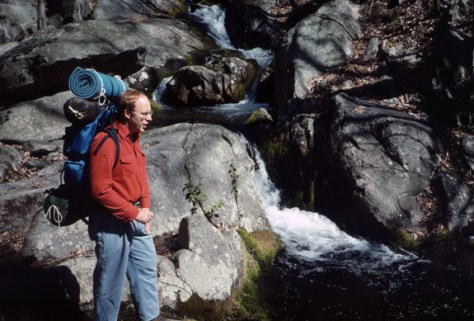 Fly Fishing Trout hike into backcountry streams.