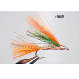 Murray's Bass Skating Streamer - Flash Color - Imitates young sunfish fleeing an aggressive smallmouth bass
