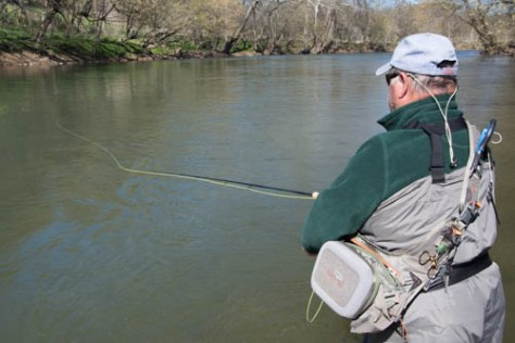 Flyfishing Report -Smallmouth Bass Fishing on the Shenandoah River