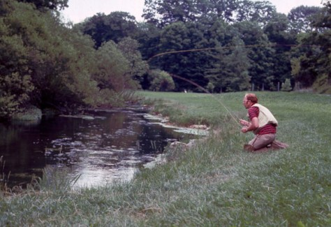 Casts Fly Fishing Murray's Fly Shop VA - Big Spring Creek - Circa 1976