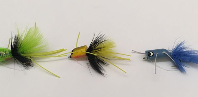My Three Effective Hard Head Smallmouth Bass Bugs
