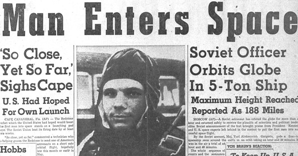 Top Ten Quotes From Yuri Gagarin's Biography
