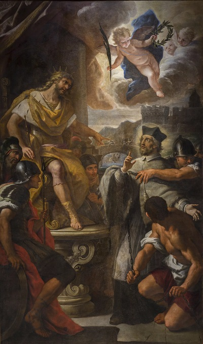 Paolo de Matteis, El rei Venceslau IV sentencia sant Joan Nepomucè