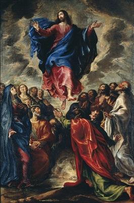 Francisco Camilo, Ascensió, 1651, Museu Nacional d'Art de Catalunya.