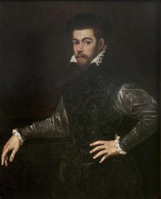 Tintoretto, Retrat de cavaller, 1553-1554 , Museu Nacional d'Art de Catalunya.