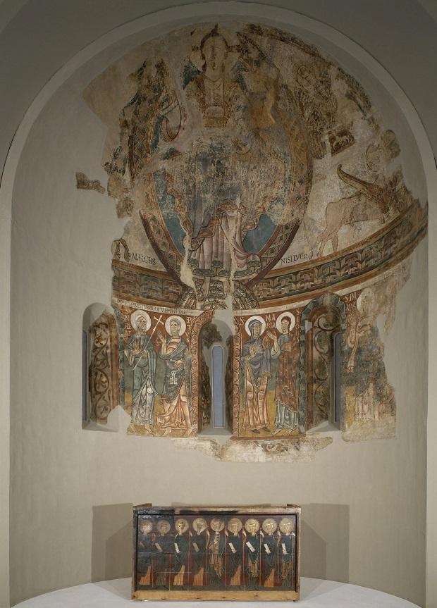 Absis de Sant Pere de la Seu d'Urgell