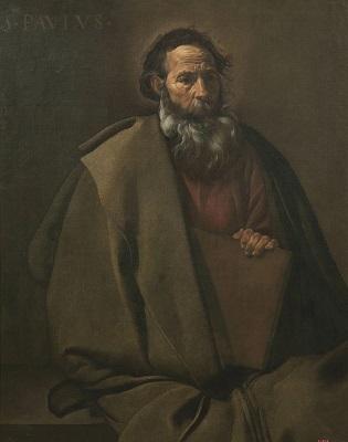 Diego Velázquez, Sant Pau, c. 1619, Museu Nacional d'Art de Catalunya.