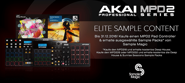 Akai MPD2 Serie – Elite Sample Content von Sample Magic gratis