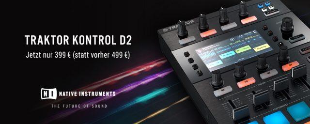 Native Instruments: Traktor Kontrol D2 Preissenkung