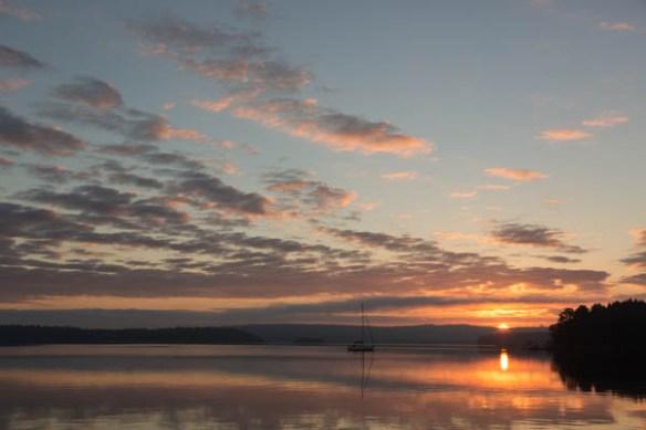 mv Archimedes Clam Bay morning 5