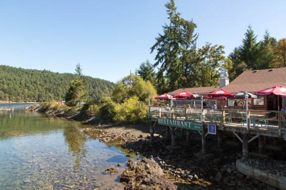 mv Archimedes Genoa Bay Cafe 1