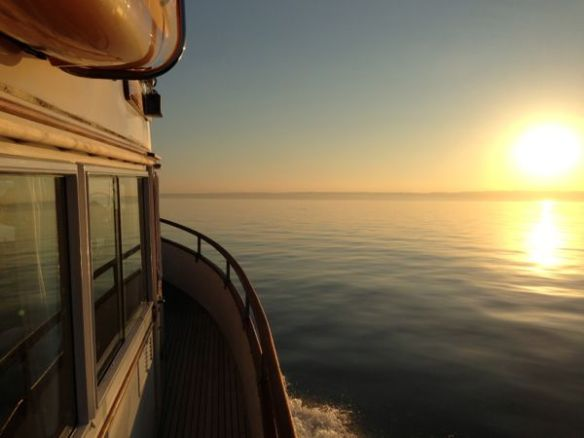 mv Archimedes heads toward a great day