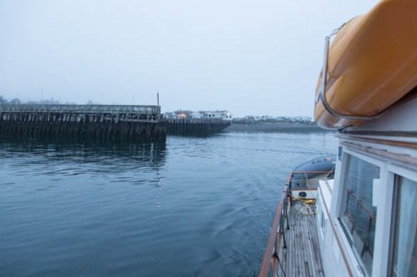 mv Archimedes leaving Point Hudson