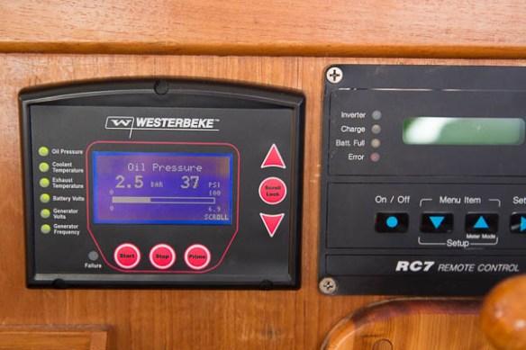 mv Archimedes generator panel 1