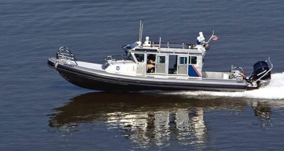 US CBP Boat