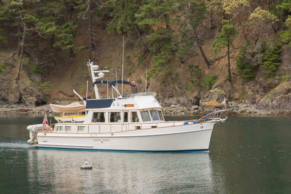 mv Archimedes Eagle's Gig at Deer Harbor