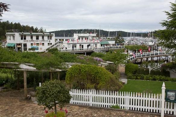 mv Archimedes PSGBOA rendezvous Roche Harbor 1