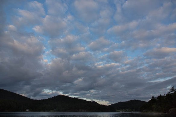 mv Archimedes Prevost Harbor morning