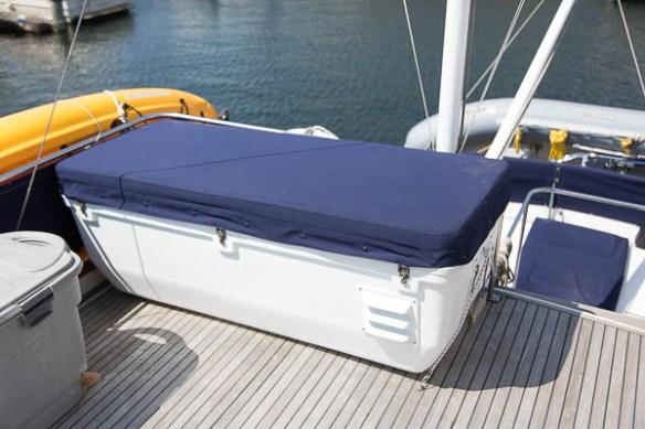 mv Archimedes deck freezer done