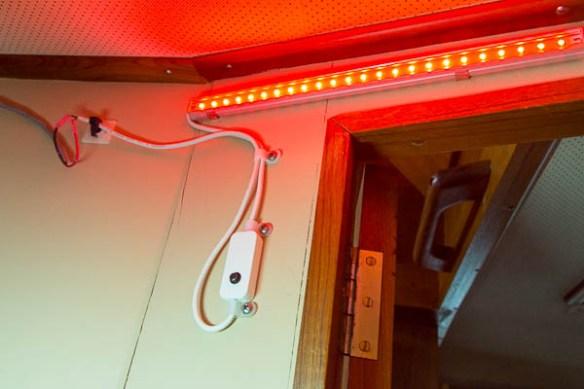 mv Archimedes closet light installed
