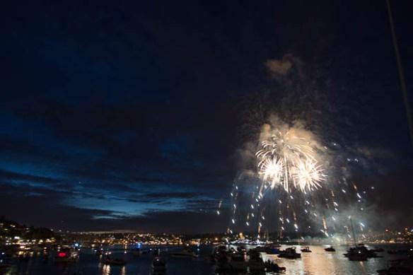 mv Archimedes Lake Union Fireworks 7