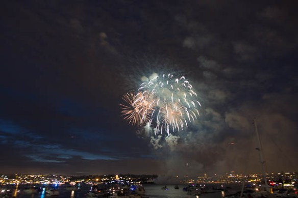 mv Archimedes Lake Union Fireworks 8