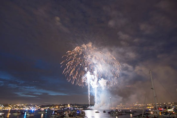 mv Archimedes Lake Union Fireworks 9