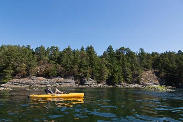 mv Archimedes Bruce hobie kayaking James Bay