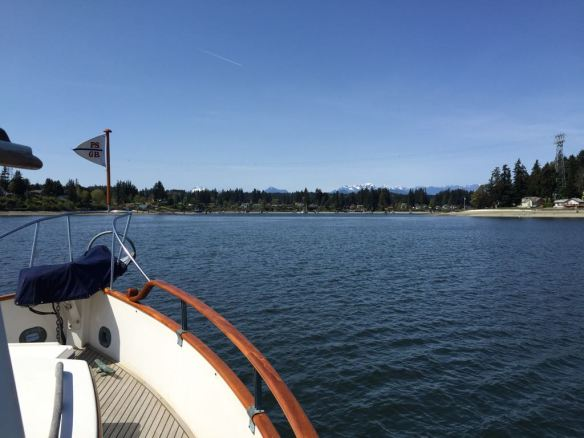 mv Archimedes headed back to Poulsbo