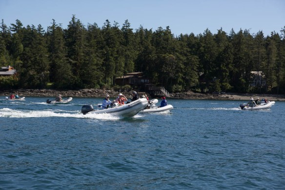 mv Archimedes Grand Banks rendezvous race for the oysters
